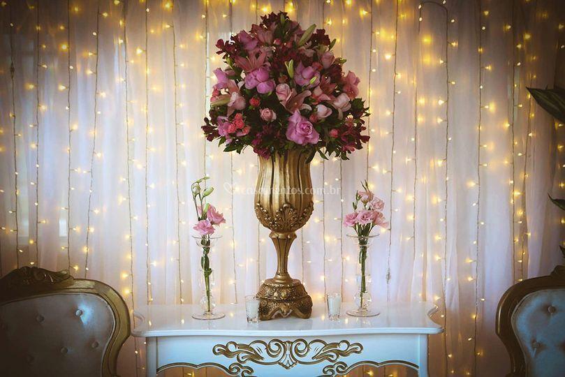Pacotes com decoração