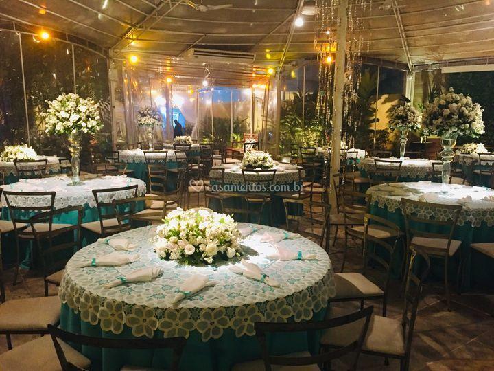 Salão Principal De Tropical Casa De Festas Foto 15