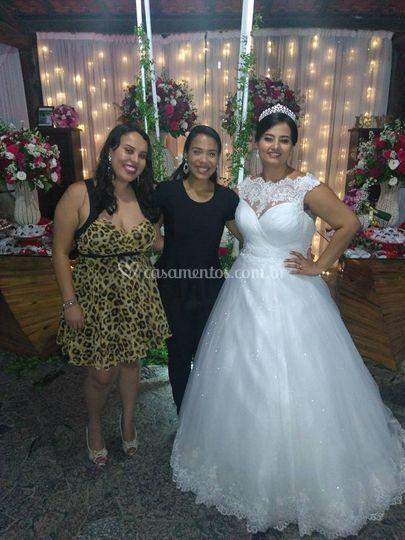 Noivas Mikaela e Larissa