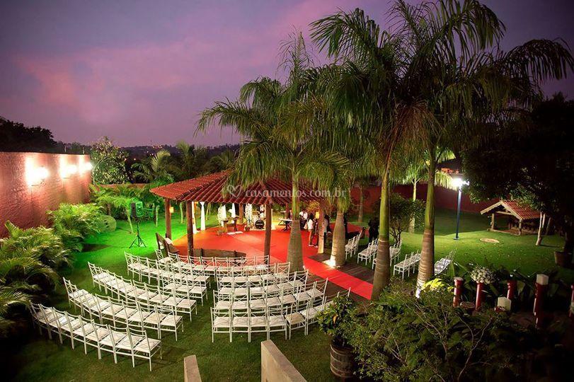 Espaço para cerimonia