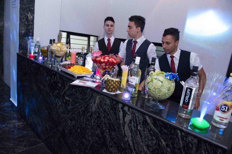 Bar para drinks