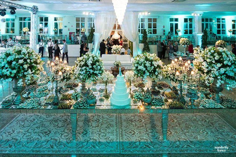 Casamento branco espelho