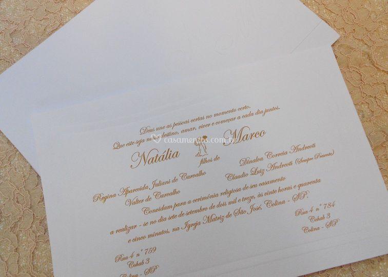 Convite Natália e Marco