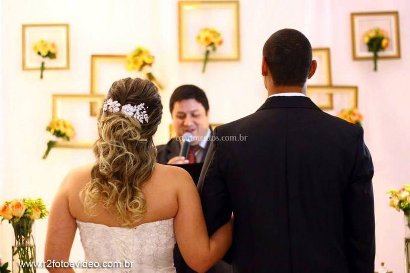 A história de amor do casal