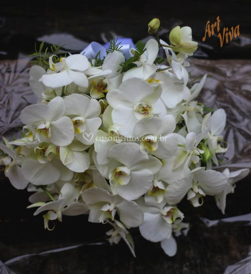 Bouquet de Orquidea Branca