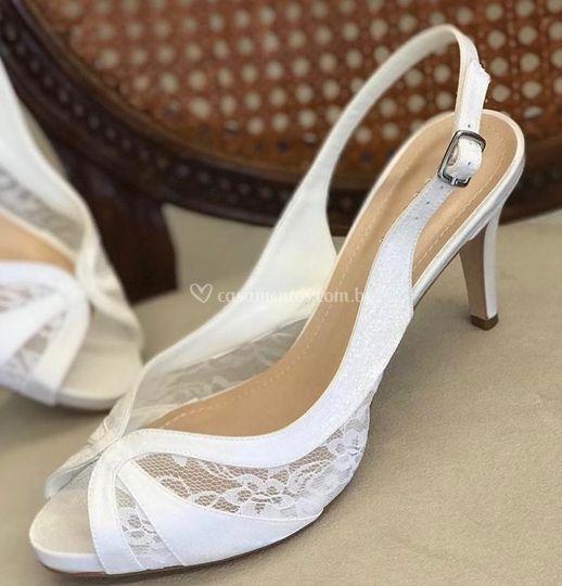 Chanel Noiva Rendado