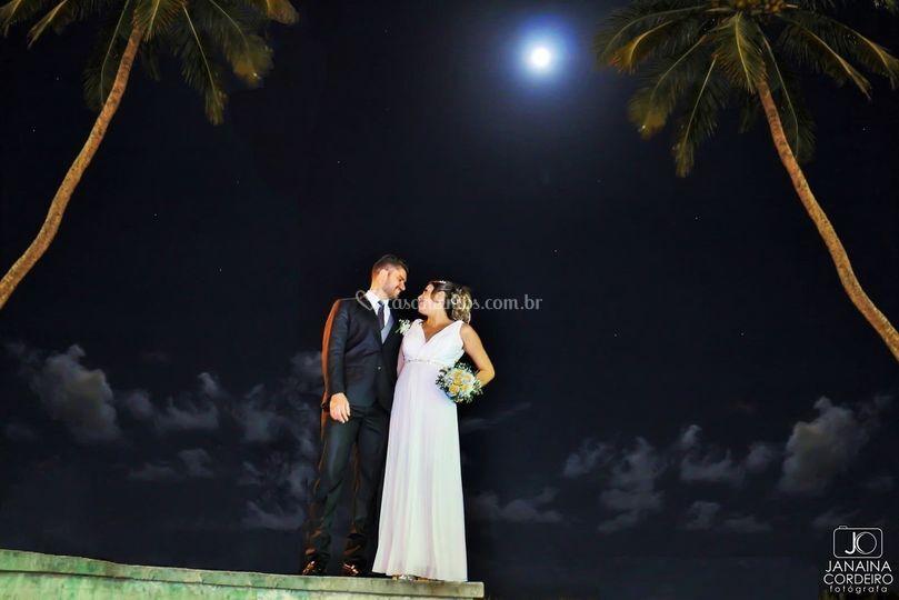 Em noite de lua cheia