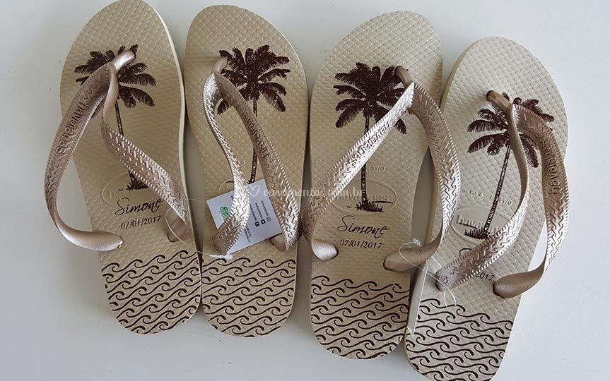 Havaianas Personalizada