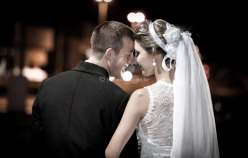 O momento do casamento