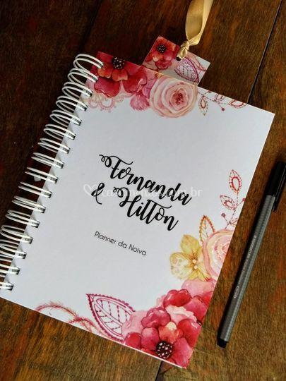 Planner da noiva Personalizado