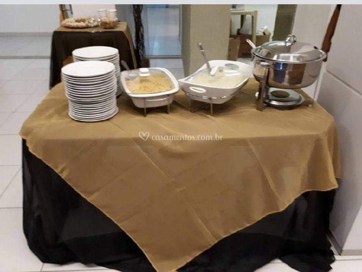Pequeno jantar de Michelle