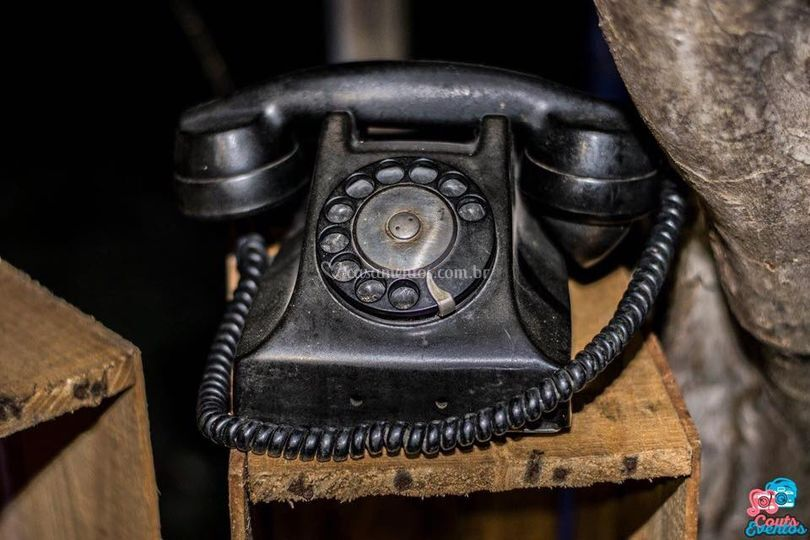 Telefone antigo para locação