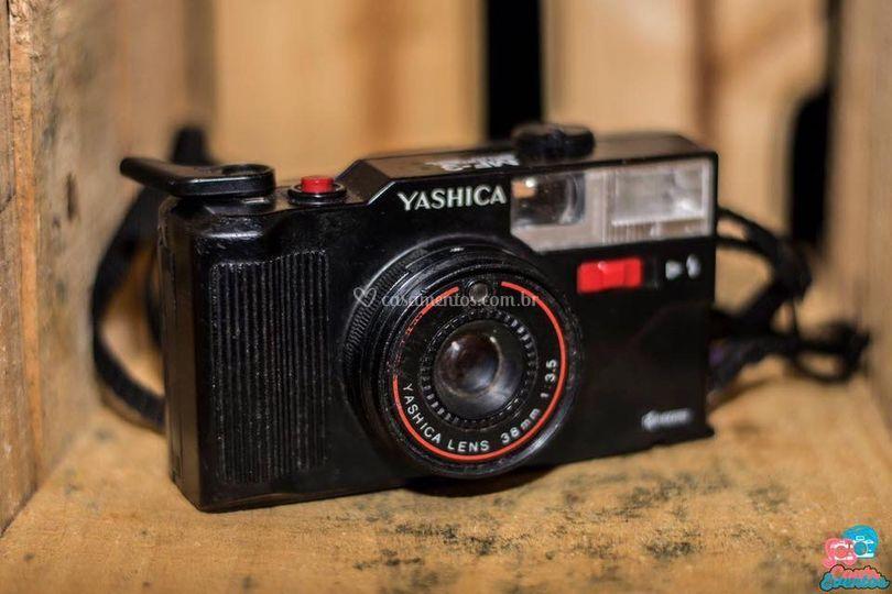 Máquina fotográfica locação
