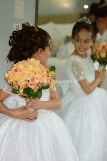 Damas e noivinha