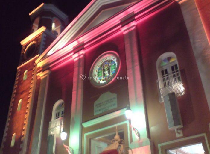 Iluminação da igreja