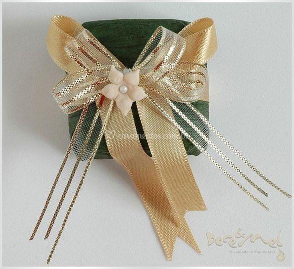 Mini pão de mel verde