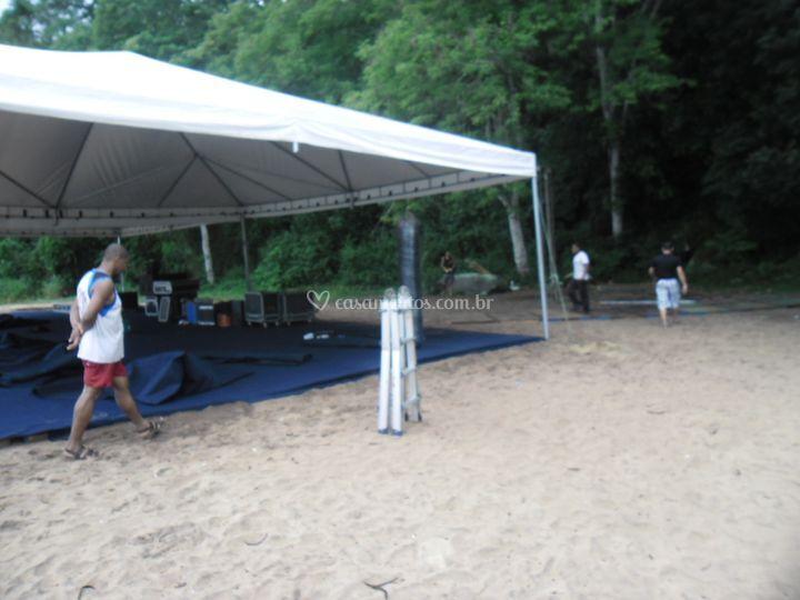 Tenda 10x10 piramidal
