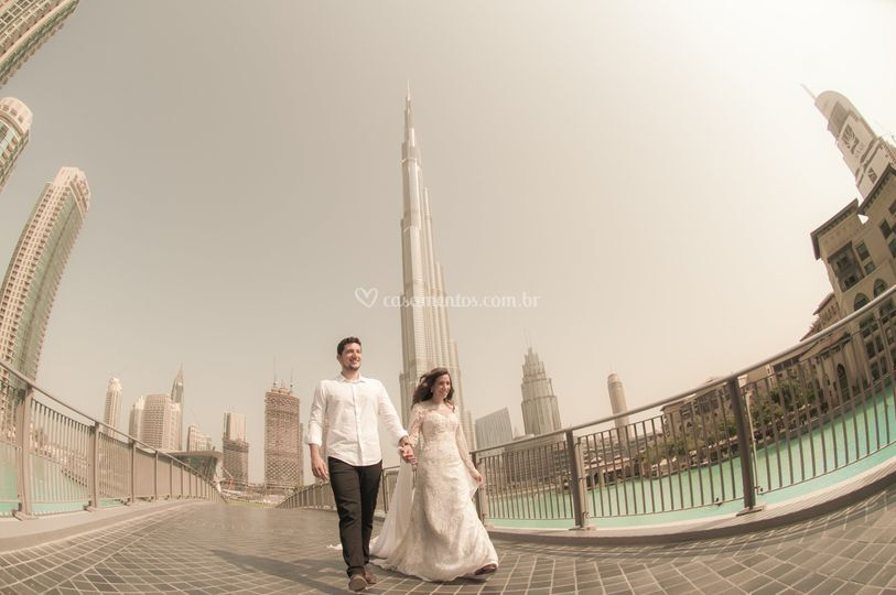 Trash the dress Dubai