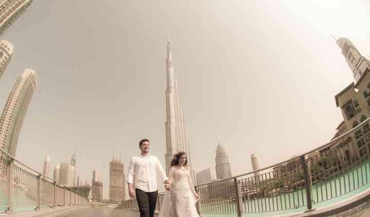 Trash the dress Dubai