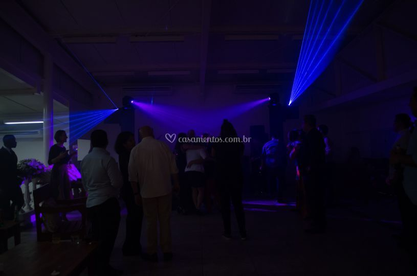 Moving head e laser rgbw