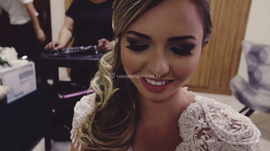 Aline e Thiago - Making Of.