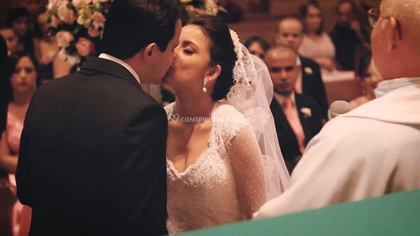 Lorena e Heitor... o beijo!