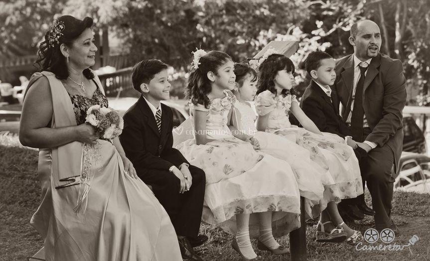 Casamento pose