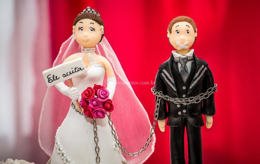 Casamento noivinhos