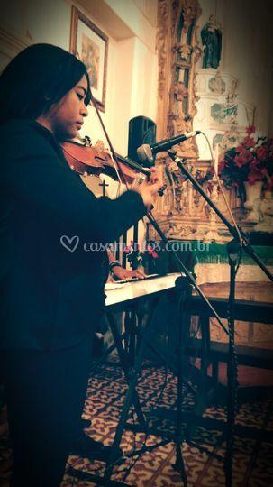 Violino apurado da Tati
