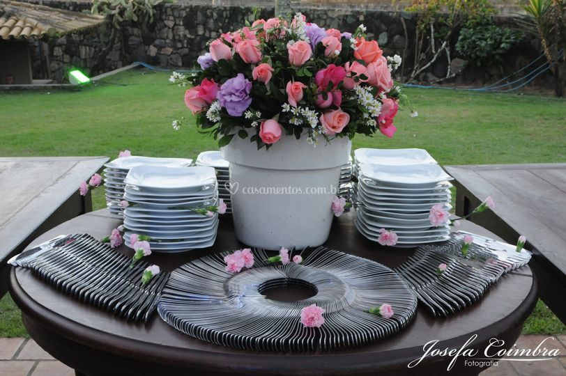 Mesa pratos