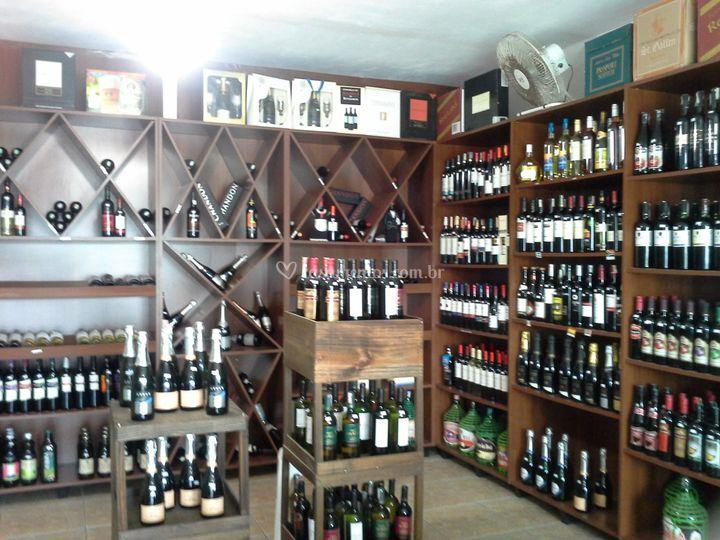Grande variedade de bebidas