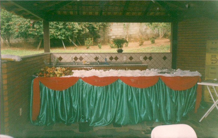 Mesa de frutas - Buffet