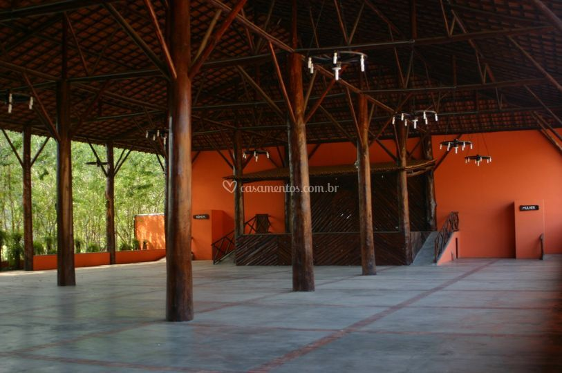Salão vazio