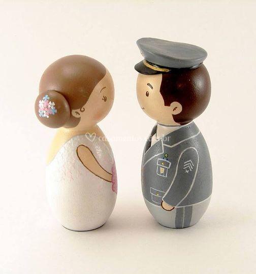Topo de bolo para casamentos