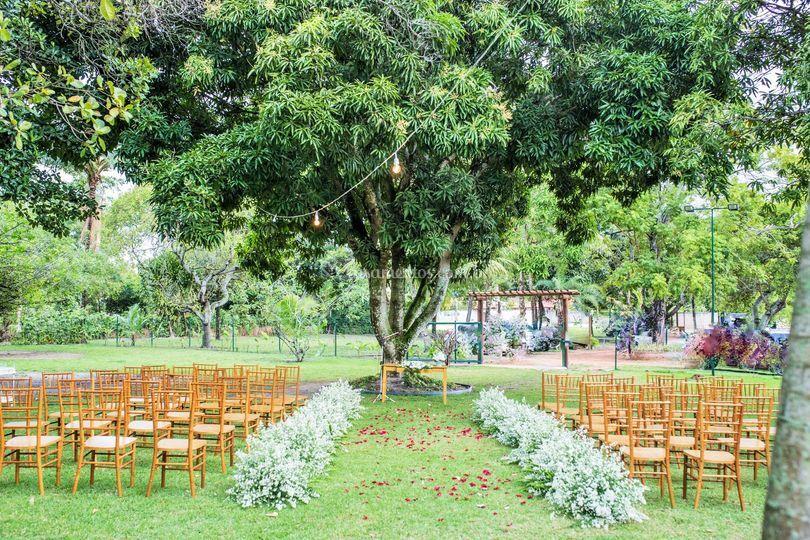 Cenário Casamento
