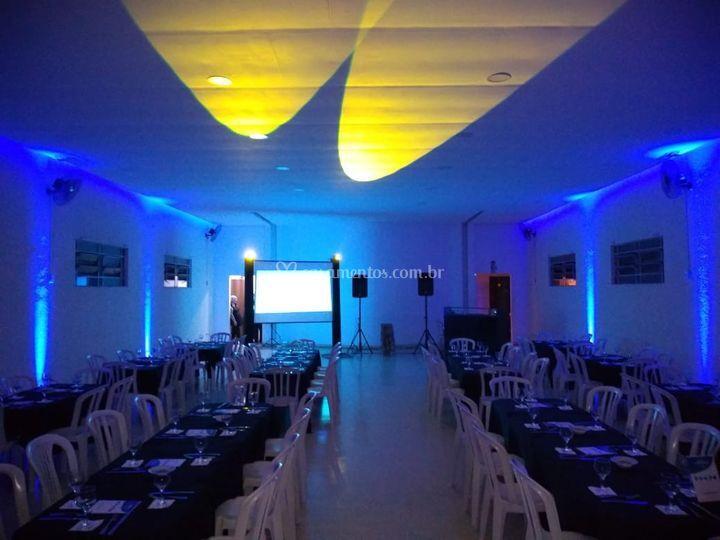 Espaço D'salles SP-Iluminação