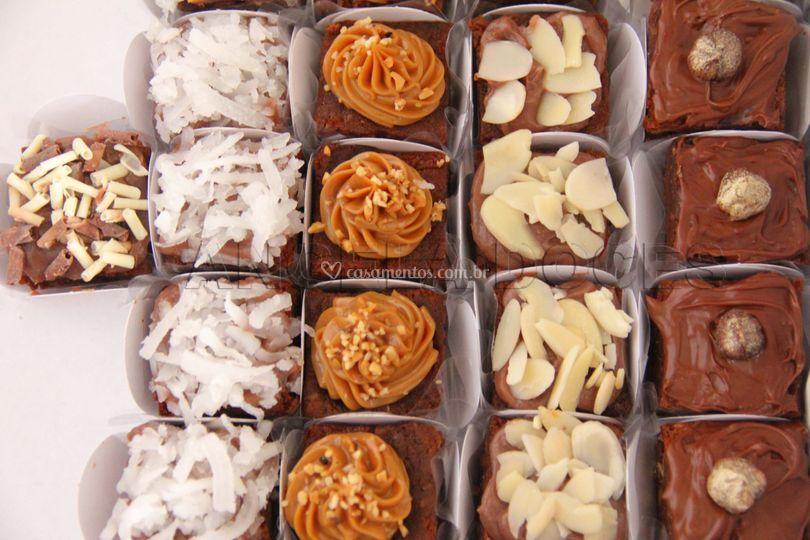 Brownie gourmet