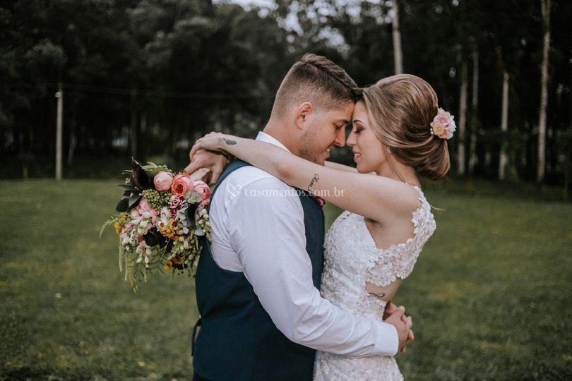 Casamento no campo!
