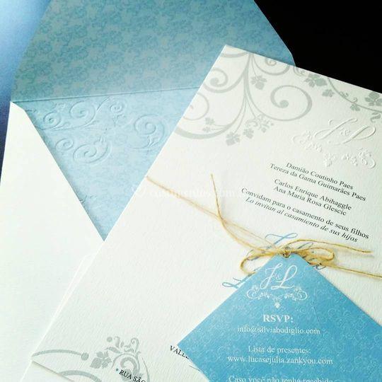 Convite luxo