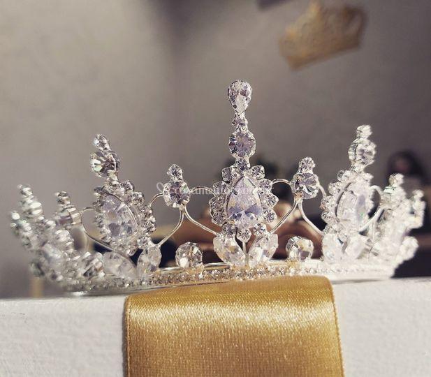 Coroa Princesa zirconia