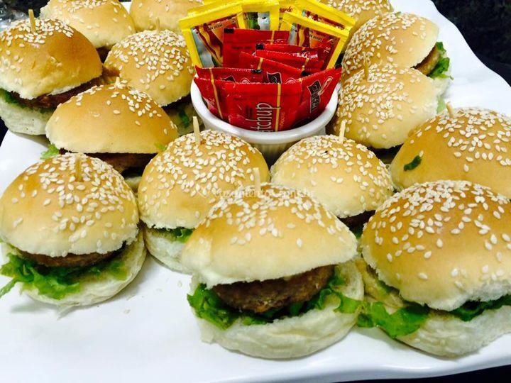 Mini hamburgueres
