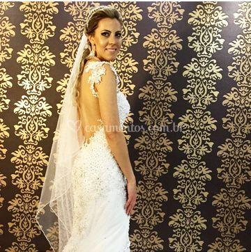 Noiva Bárbara Sandin