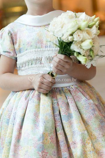 Detalhe vestido de dama