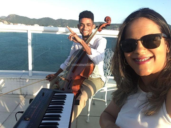 Filmmaker Tecladoto e Cello.