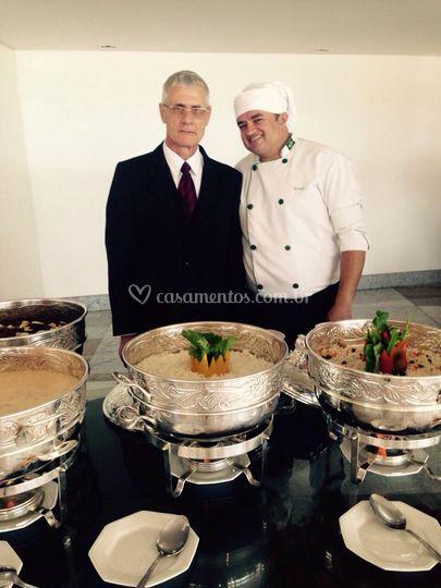 Nosso Metre e Chefe de cozinha
