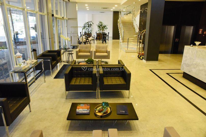 Recepção Blue Open Hotel