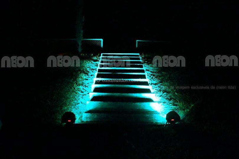 Dj som e luz-neon eventos
