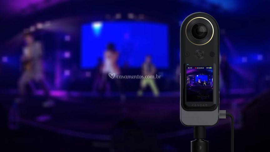 Filmagem 360°