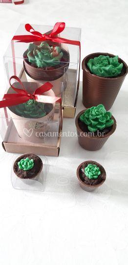Suculenta de chocolate P M G