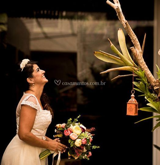 Flores naturais e artesanais